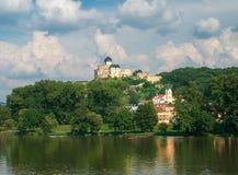 Trencin城堡,斯洛伐克 免版税库存照片