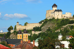 Trencin,斯洛伐克 免版税库存图片