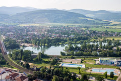 Trencin Σλοβακία Στοκ φωτογραφία με δικαίωμα ελεύθερης χρήσης