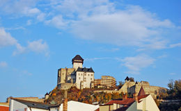 trencin замока Стоковая Фотография RF