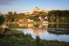 Trencin, Словакия стоковые фотографии rf