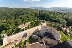Trencin Castle Σλοβακία Στοκ εικόνες με δικαίωμα ελεύθερης χρήσης