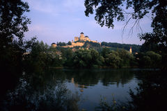 Trencin castle Royalty Free Stock Photos