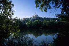 Trencin castle Stock Photography