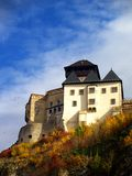 Trencin Castle. Medieval Slovakian castle known as Trencin Castle Royalty Free Stock Photography