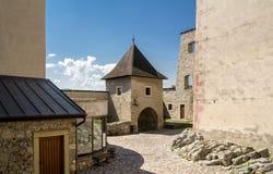 Trencin castle Stock Image