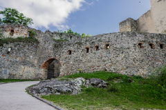 Trencin Castle Slovakia Royalty Free Stock Image