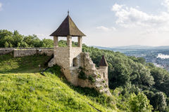 Trencin Castle Slovakia Stock Photography