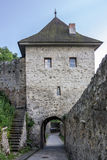 Trencin Castle Slovakia royalty free stock photos