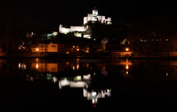 Trencin Castle, Slovakia Royalty Free Stock Photos