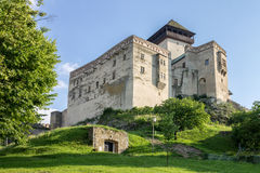 Trencin Castle Slovakia Royalty Free Stock Photos