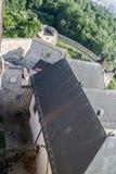 Trencin Castle Slovakia stock image