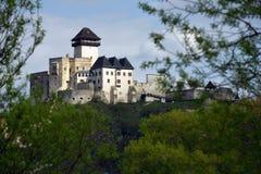 Trencin Castle, Slovakia Stock Image