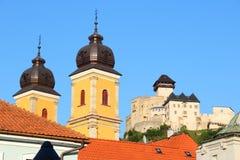 Trencin, Slovakia Stock Photography