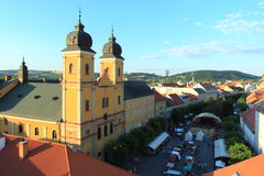Trencin royalty free stock image