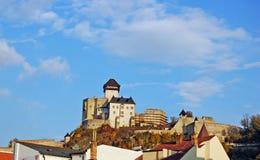 Trencin Schloss Lizenzfreie Stockfotografie