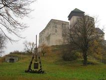 Trencin Schloss Lizenzfreies Stockfoto