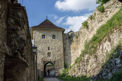 Trencin-Schloss Slowakei Lizenzfreies Stockfoto