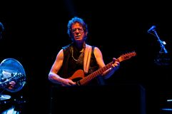 TRENCIN SISTANI, LIPIEC, - 5: Lou Reed wykonuje przy Pohoda muzyką Zdjęcia Royalty Free