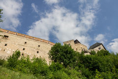 Trencin slott Slovakien Royaltyfri Foto