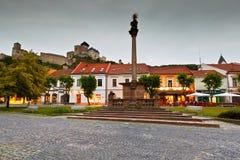 Trencin, Slovakia. stock images