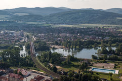 Trencin Slovakia Stock Photo