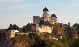 Trencinsky hrad or Trencin castle Stock Photo