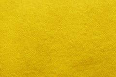 Trend Ceylon yellow woolen background, texture, close-up stock photos