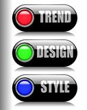 Trend Design Style Stock Photography