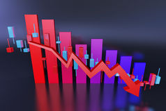 The trend of economic Stock Photography