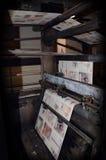 trend för förskjuten printing Royaltyfri Fotografi