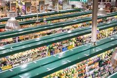 Trend-inställning livsmedelsbutik Royaltyfria Foton