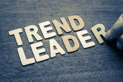 Trend Leader Royalty Free Stock Photos
