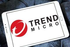 Trend Micro företagslogo Arkivbild