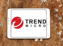 Trend Micro företagslogo Fotografering för Bildbyråer