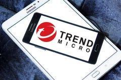 Trend Micro företagslogo Royaltyfria Foton
