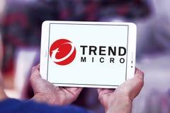 Trend Micro-Firmenlogo Lizenzfreies Stockfoto