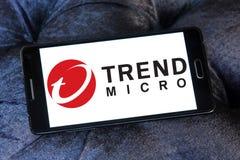 Trend Micro firmy logo Zdjęcia Royalty Free