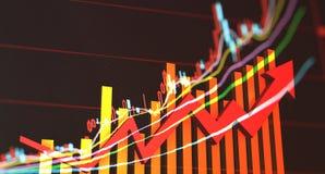 Trend rozwój gospodarka Zdjęcie Royalty Free