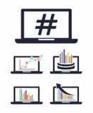 Trend symbol design Stock Photos