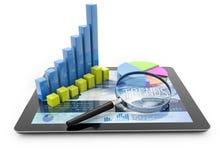 Trendanalyse Lizenzfreie Stockfotos