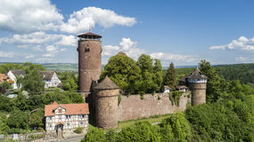 Trendelburg castle in Germany Stock Photography