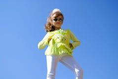 trendig flicka Royaltyfria Foton