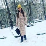 trendig flicka Royaltyfria Bilder