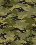 Trendig kamouflagemodell Royaltyfri Bild
