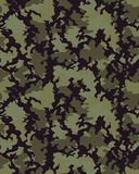 Trendig kamouflagemodell Arkivfoton