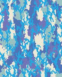Trendig kamouflagemodell Arkivfoto