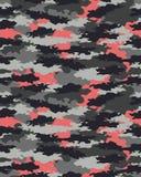 Trendig kamouflagemodell Fotografering för Bildbyråer