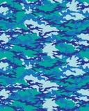 Trendig kamouflagemodell Arkivbilder