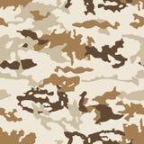 Trendig kamouflagemodell, sömlös vektor Millatry tryck texturen av kläderna, förklädnaden av en jägare royaltyfri illustrationer